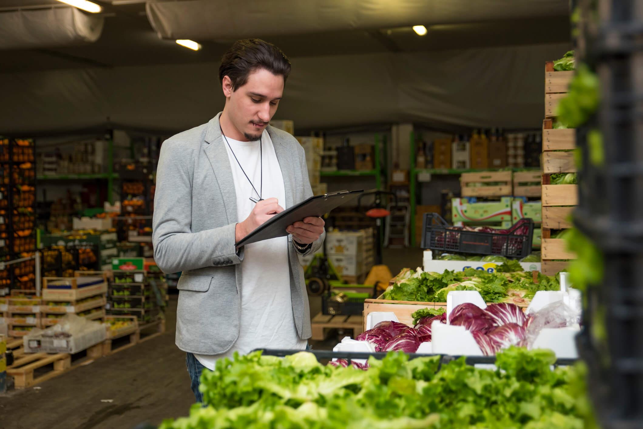 como escolher fornecedores para industria de alimentos